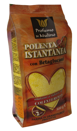 Instant flour with beta-glucans